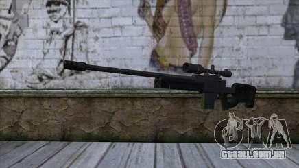 GTA 5 Sniper Rifle para GTA San Andreas