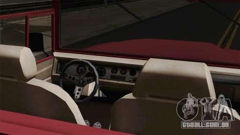 Canis Bodhi V1.0 Clean para GTA San Andreas traseira esquerda vista