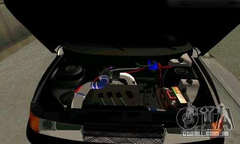 VAZ 21123 Chernysh para GTA San Andreas traseira esquerda vista