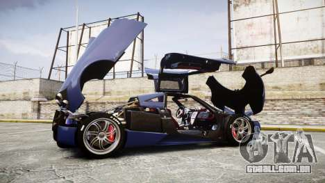 Pagani Huayra 2013 [RIV] para GTA 4 vista lateral