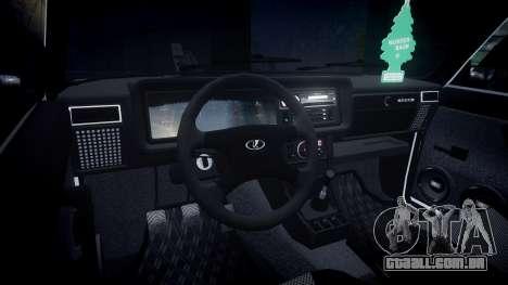VAZ-2107 Itália para GTA 4 vista de volta