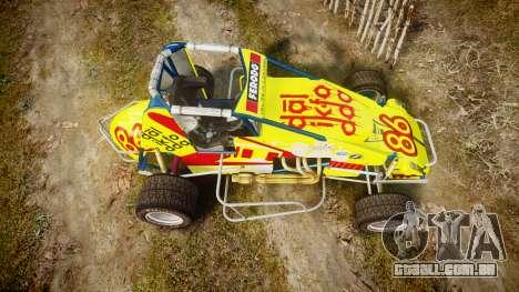 Larock-Sprinter Dalikfodda para GTA 4 vista direita