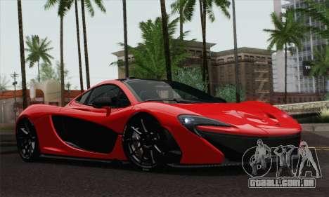 McLaren P1 HQ para GTA San Andreas