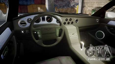 Bentley Arnage T 2005 Rims3 para GTA 4 vista de volta