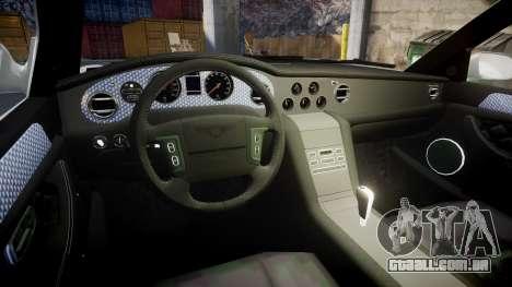 Bentley Arnage T 2005 Rims3 para GTA 4 vista de volta