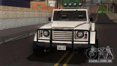 Canis Bodhi V1.0 Army para GTA San Andreas