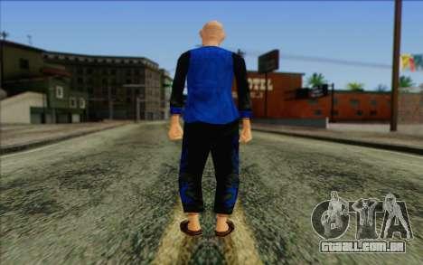 Membro do esquadrão AI da Pele 5 para GTA San Andreas segunda tela