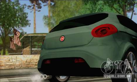 Fiat Bravo 2 para GTA San Andreas traseira esquerda vista