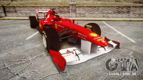Ferrari 150 Italia Track Testing para GTA 4