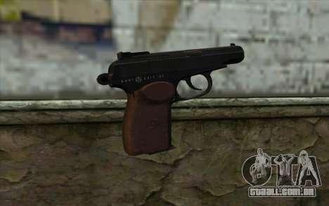A Pistola Makarov para GTA San Andreas segunda tela