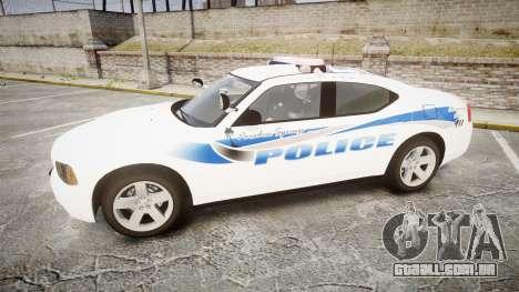 Dodge Charger 2010 PS Police [ELS] para GTA 4 esquerda vista