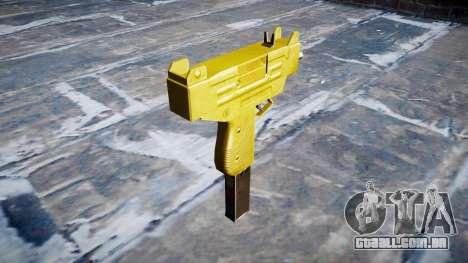 Golden Uzi para GTA 4 segundo screenshot