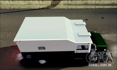 Shubert Armored Van from Mafia 2 para GTA San Andreas traseira esquerda vista