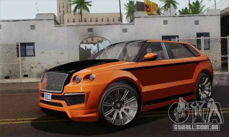 Huntley S (IVF) para GTA San Andreas