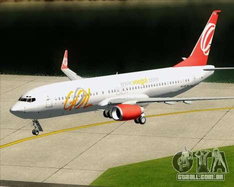 O Boeing 737-800 da Gol Transportes Aéreos para o motor de GTA San Andreas