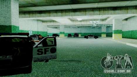 O renascimento de todas as delegacias de polícia para GTA San Andreas nono tela