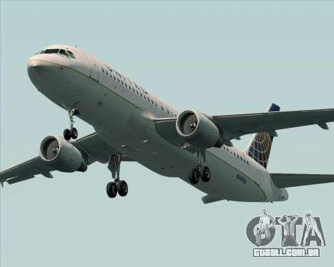 Airbus A320-232 United Airlines para o motor de GTA San Andreas