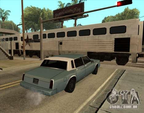 Tahoma Restyle para GTA San Andreas esquerda vista