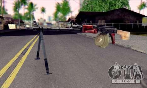 RPK-74 do ArmA 2 para GTA San Andreas
