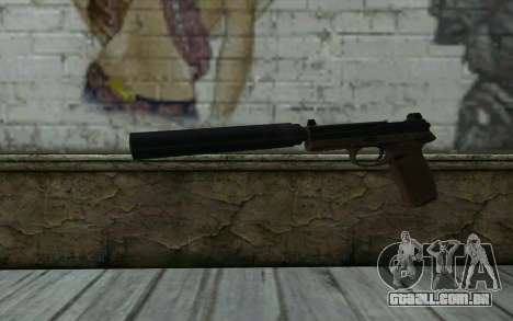 FN FNP-45 Com Silenciador para GTA San Andreas