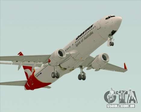 Boeing 737-838 Qantas (Old Colors) para GTA San Andreas
