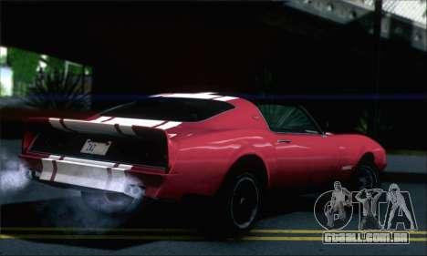 GTA 5 Phoenix para GTA San Andreas esquerda vista