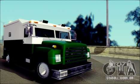 Shubert Armored Van from Mafia 2 para GTA San Andreas