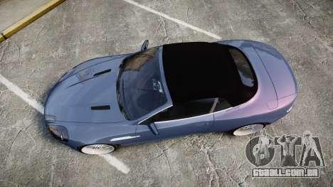 Aston Martin DB9 Volante 2005 VK Edition para GTA 4 vista direita