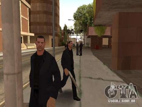 Áreas de troca de gangues e armas para GTA San Andreas quinto tela