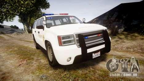 GTA V Declasse Granger LSS White [ELS] para GTA 4