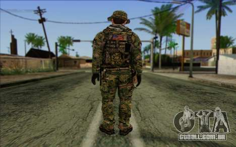 Dusty MOHW from Medal Of Honor Warfighter para GTA San Andreas segunda tela