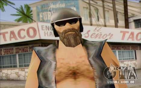 Biker from GTA Vice City Skin 2 para GTA San Andreas terceira tela