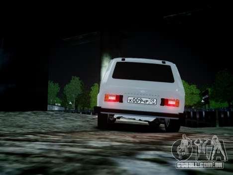 VAZ 2121 para GTA 4 vista de volta