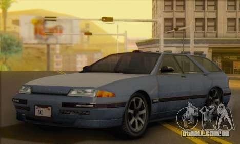 GTA 5 Stratum para GTA San Andreas vista direita