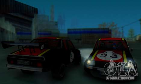 Dacia 1410 Sport para vista lateral GTA San Andreas