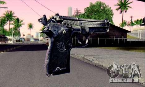 Beretta 92 para GTA San Andreas segunda tela