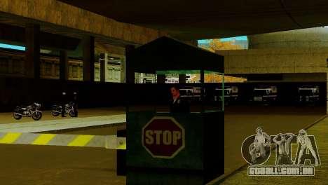 Um novo transporte em LSPD e o seu renascimento para GTA San Andreas sétima tela