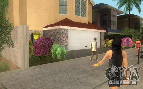 Nova casa, em Las Venturas para GTA San Andreas terceira tela