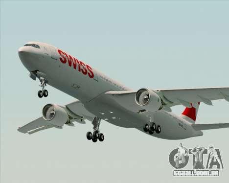Airbus A330-300X Swiss International Air Lines para GTA San Andreas esquerda vista