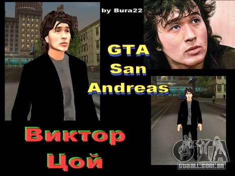 Viktor Tsoi para GTA San Andreas