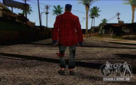 Vagabonds Skin 3 para GTA San Andreas segunda tela