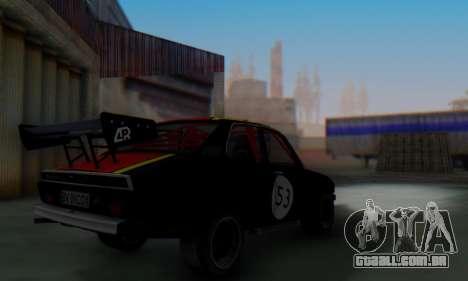 Dacia 1410 Sport para GTA San Andreas vista traseira