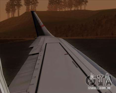 Embraer E-190 Virgin Blue para GTA San Andreas