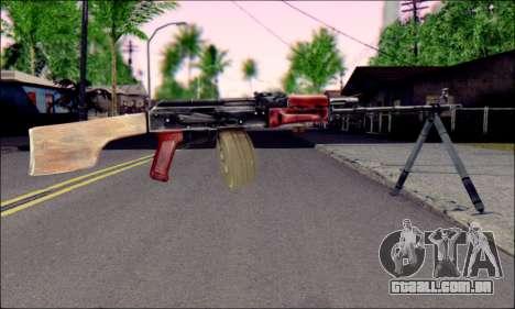 RPK-74 do ArmA 2 para GTA San Andreas segunda tela