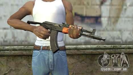 AK-105 para GTA San Andreas terceira tela