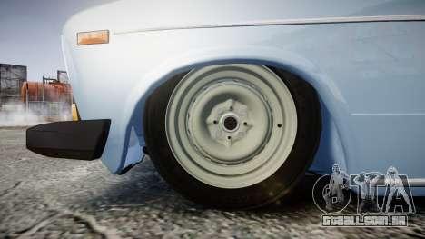 UTILIZANDO-2106 (Lada 2106) para GTA 4 vista de volta