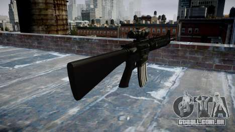 Rifle M16A4 ACOG para GTA 4 segundo screenshot