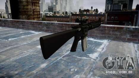 Rifle M16A4 ACOG para GTA 4 segundo screenshot