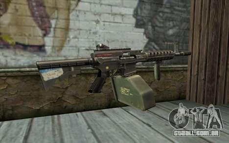 Arma De Ares Shrike para GTA San Andreas segunda tela