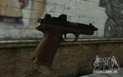 FN FNP-45, Com Vista para GTA San Andreas segunda tela